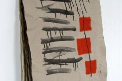 CARTE. 13 PROGETTI PER AMBIENTI,  2016  Acrylic on paper,  52 x 76 cm